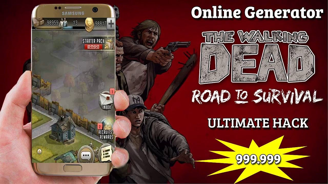 Walking Dead Road To Survival Hack Cheat Tool 999k Coins