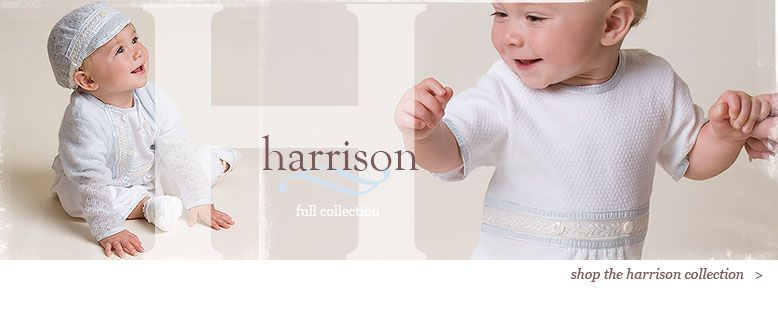 Boys Christening & Baptism Collection Designer Clothing