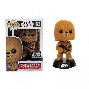 Bobble Head POP Star Wars Chewbacca Flocked (Smuggler's Bounty Exclusive)