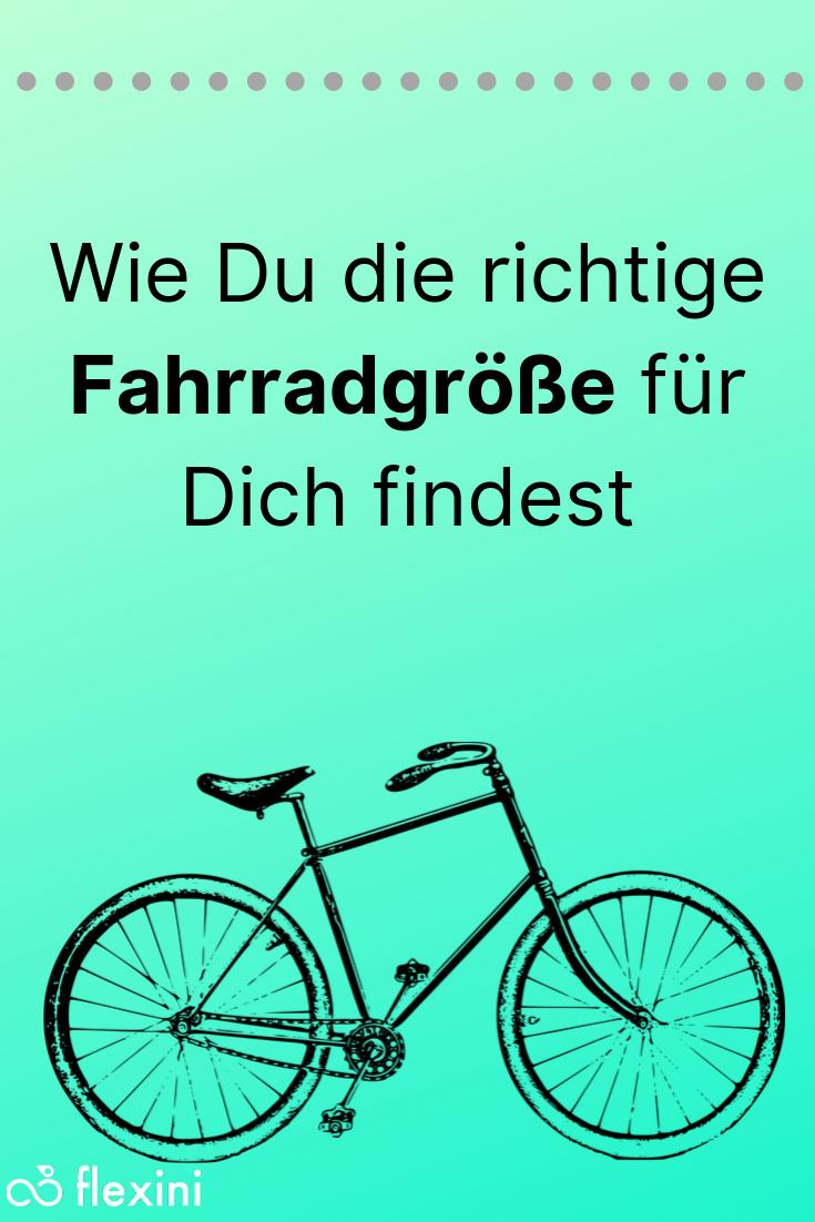 fahrrad richtige größe