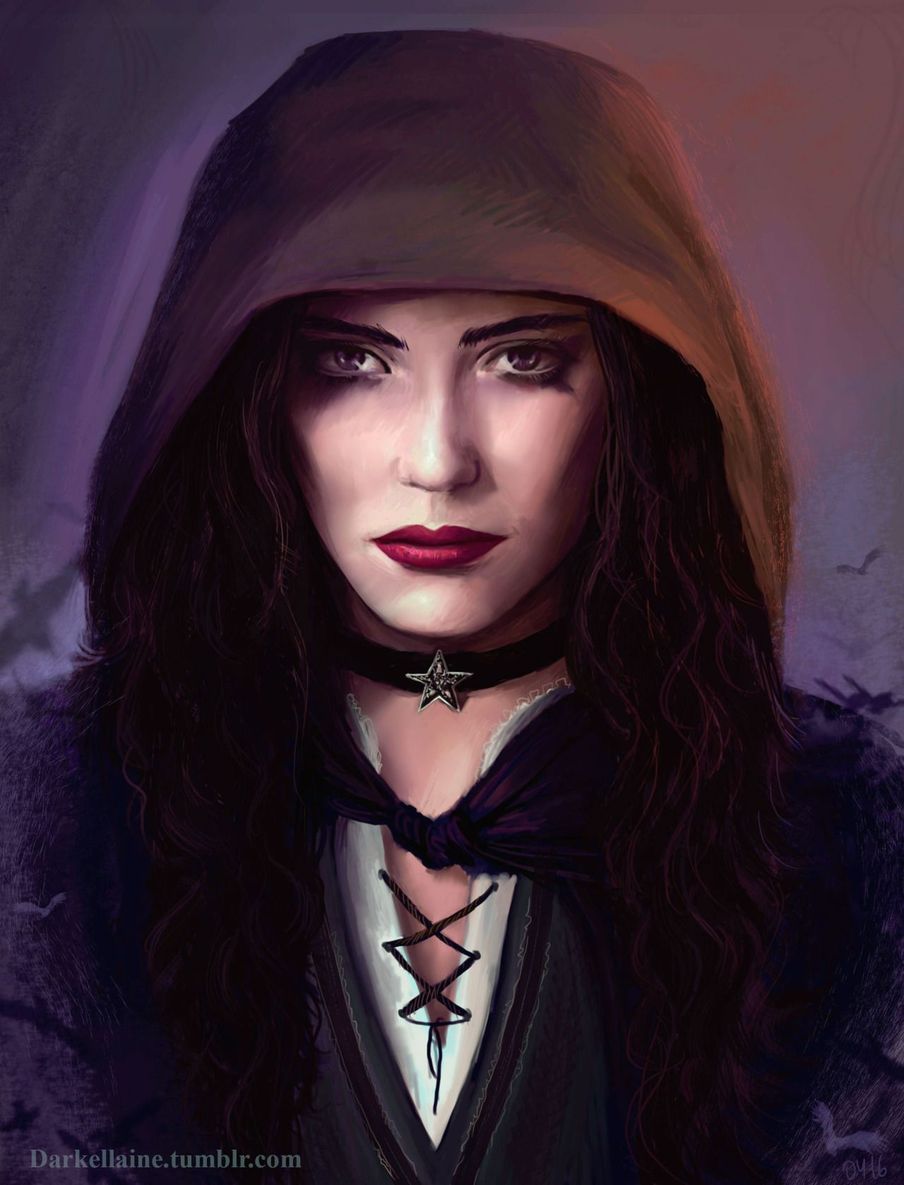 "darkellaine: ""Yennefer of Vengerberg. She was my role model in my early teens :) """