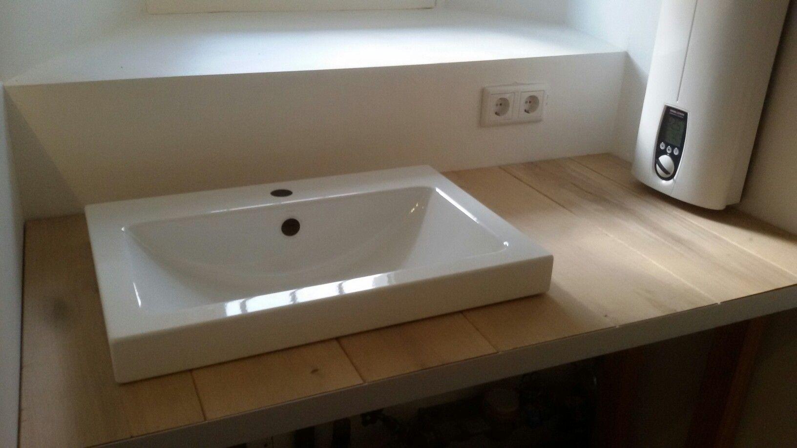 Badezimmer verputzen ~ Waschtisch aus dielen mein neues badezimmer neues