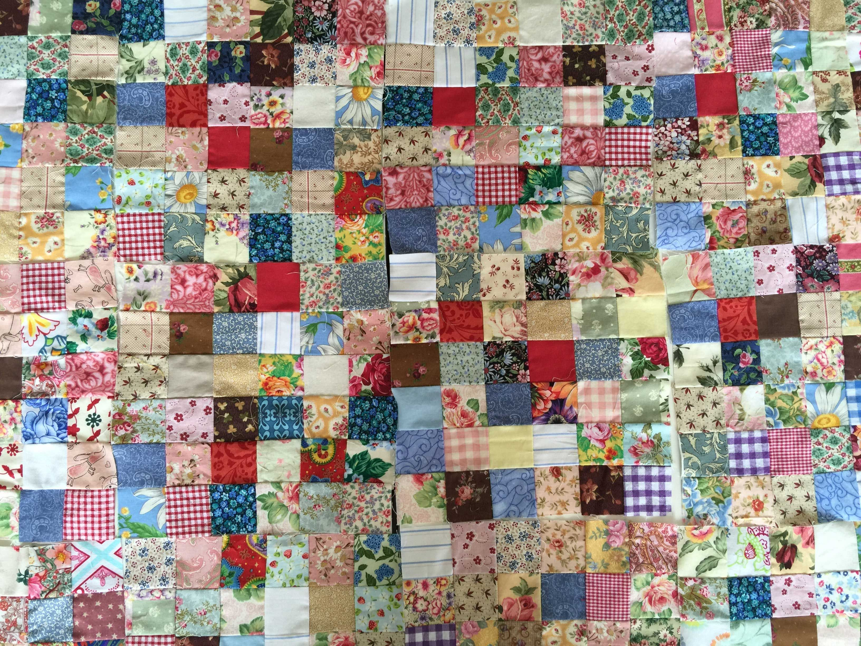 Postage Stamps Scrappy Quilts Ideas 25 Gain More 21