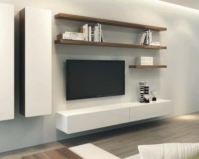 Architecture Floating Entertainment Center Ikea Wall Units Canada Tv ...