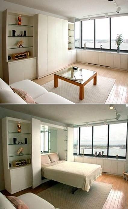 best of modern murphy beds clever spaces pinterest bett schlafzimmer und raum. Black Bedroom Furniture Sets. Home Design Ideas