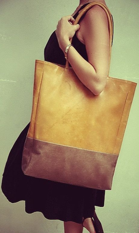 This perfect large and roomy TOTE bag is made of smooth