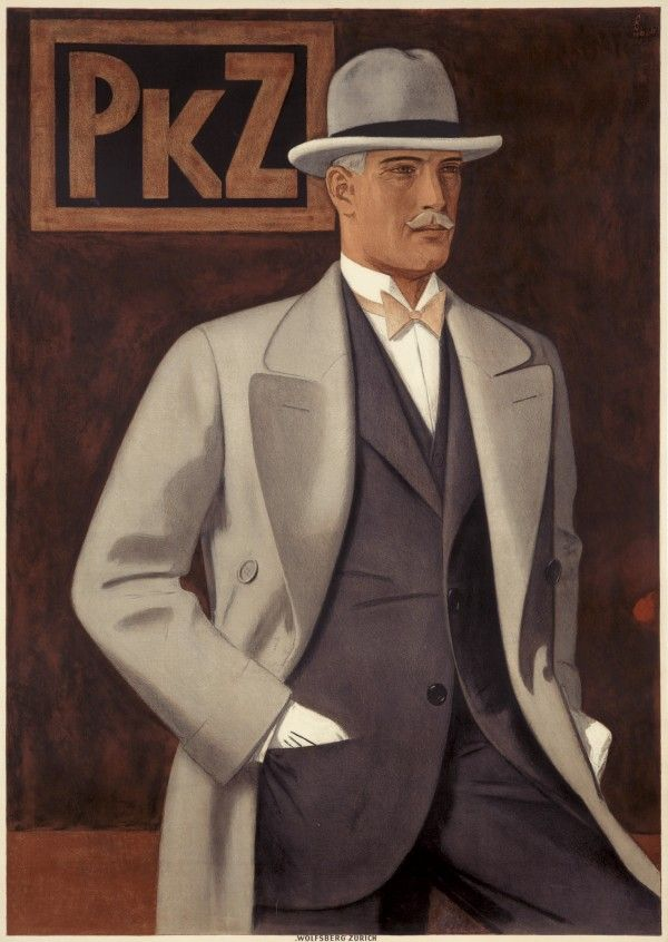 """Lot 88: """"PKZ"""" by Johann Arnhold, 1927. Est: $6,000-8,000. [Nobody told me this occasion was pink tie!]"""