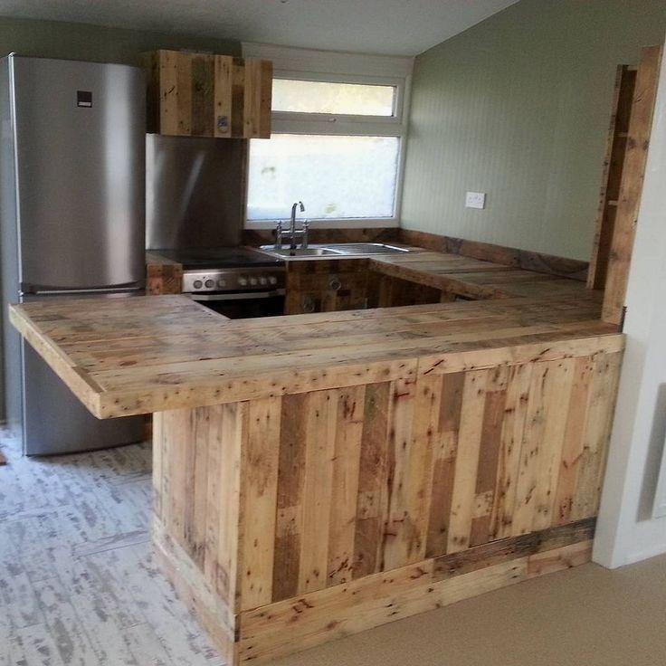 diy ideas kitchen pallet kitchen cabinets and