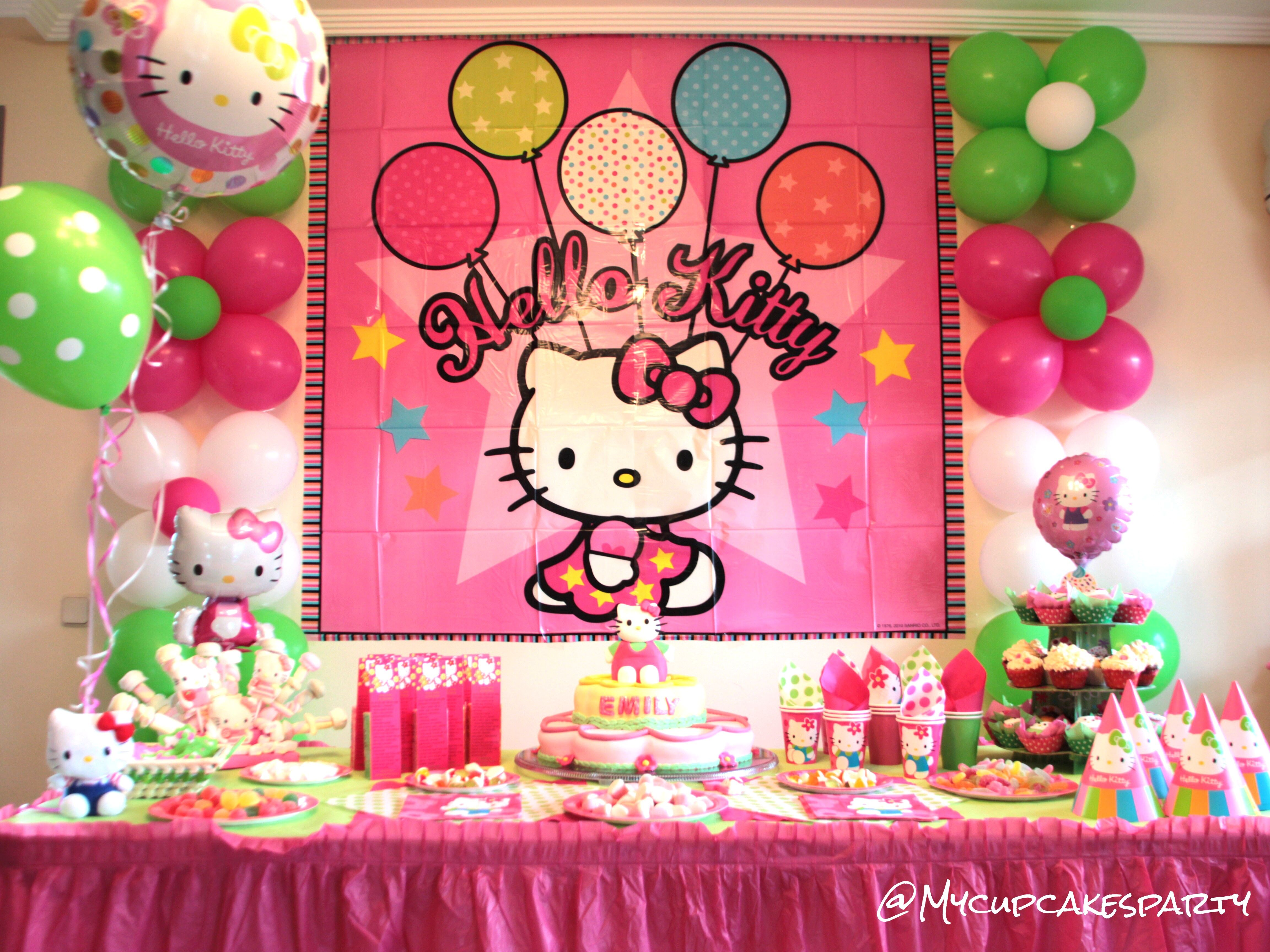 Decoration For Hello Kitty Party Hello Kitty Birthday Party