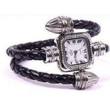 Snake Bangle Armband Horloge Zwart http://www.ovstore.nl/nl/huismerk-snake-bangle-armband-horloge-zwart.html