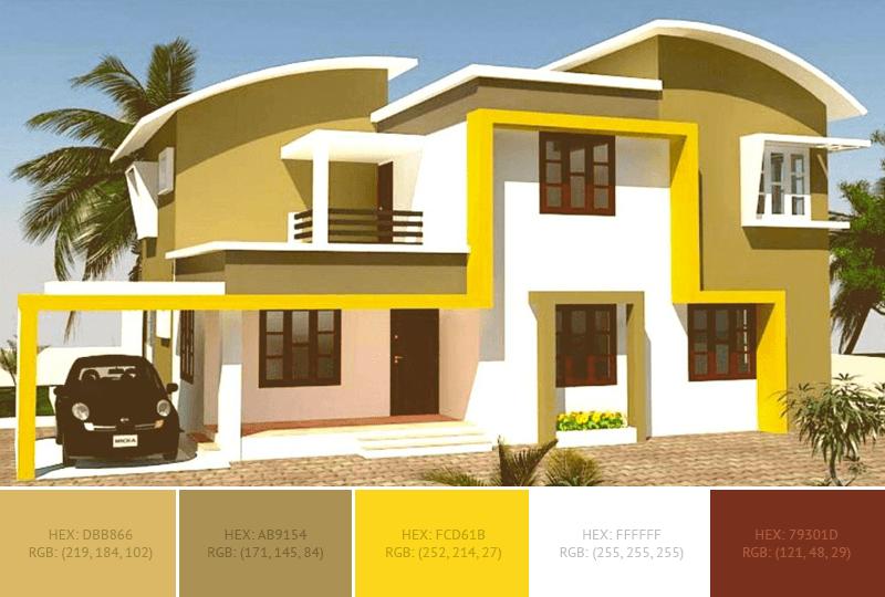 Wohnideen Ideen Farbschemata Exterior Color Combinations Exterior House Colors Color Combinations Home