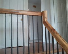 Best Suggestions To Update Wrought Iron Stair Railing Without 400 x 300