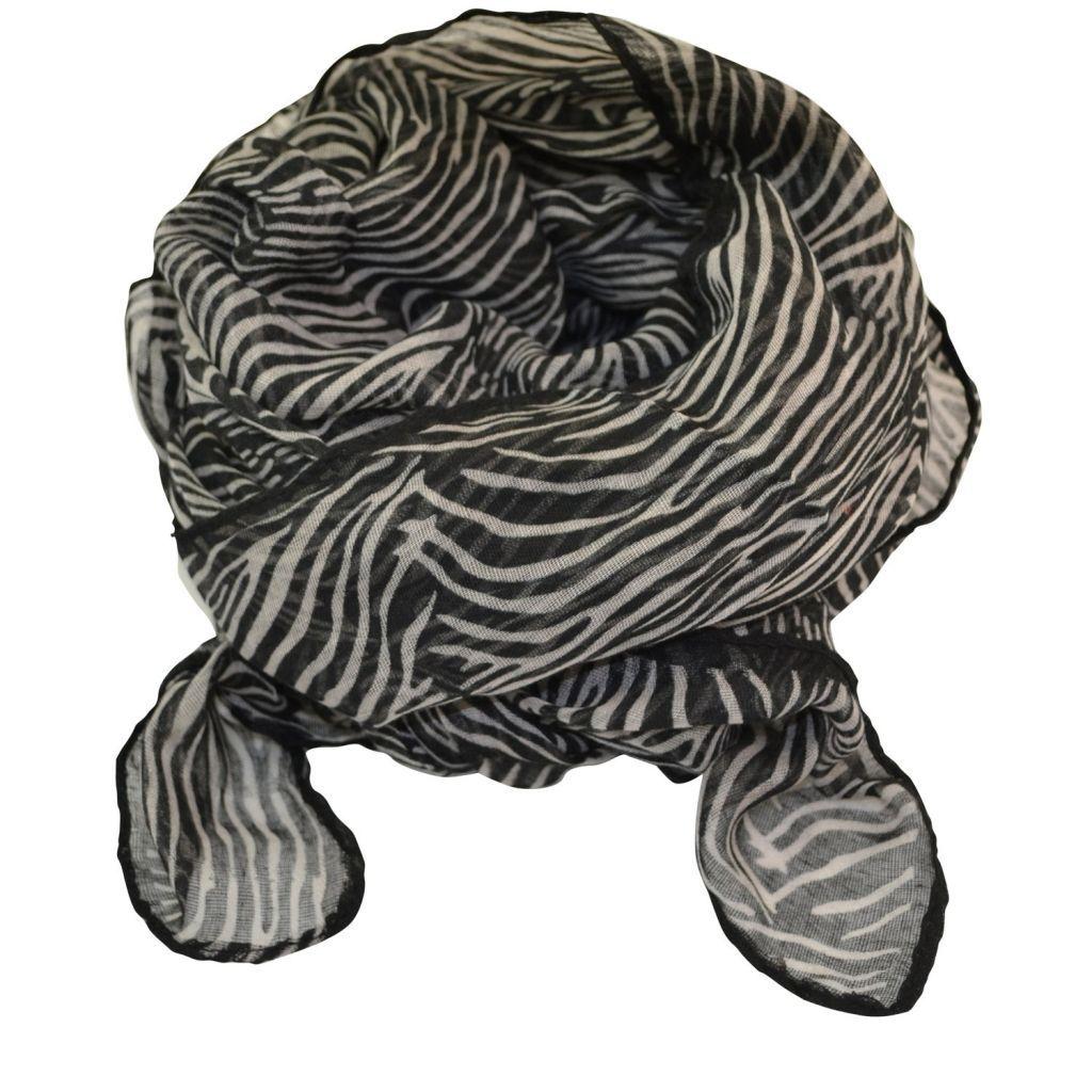 Fedt Zebra tørklæde 179 kr. www.noraogfraekkefrode.dk