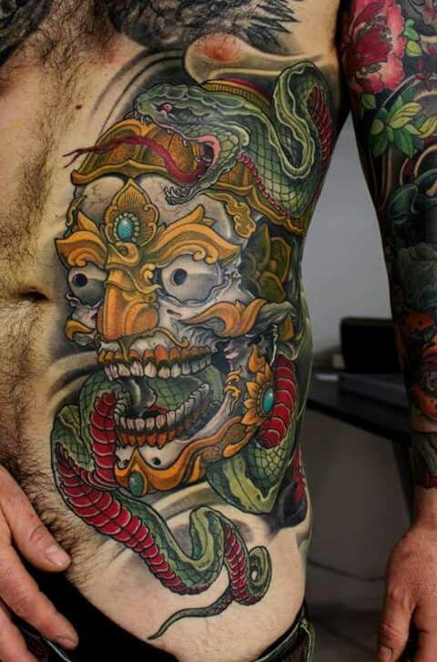 Great Tibetan Skull Jap Ghost Tattoos Tattoos Tibetan Tattoo
