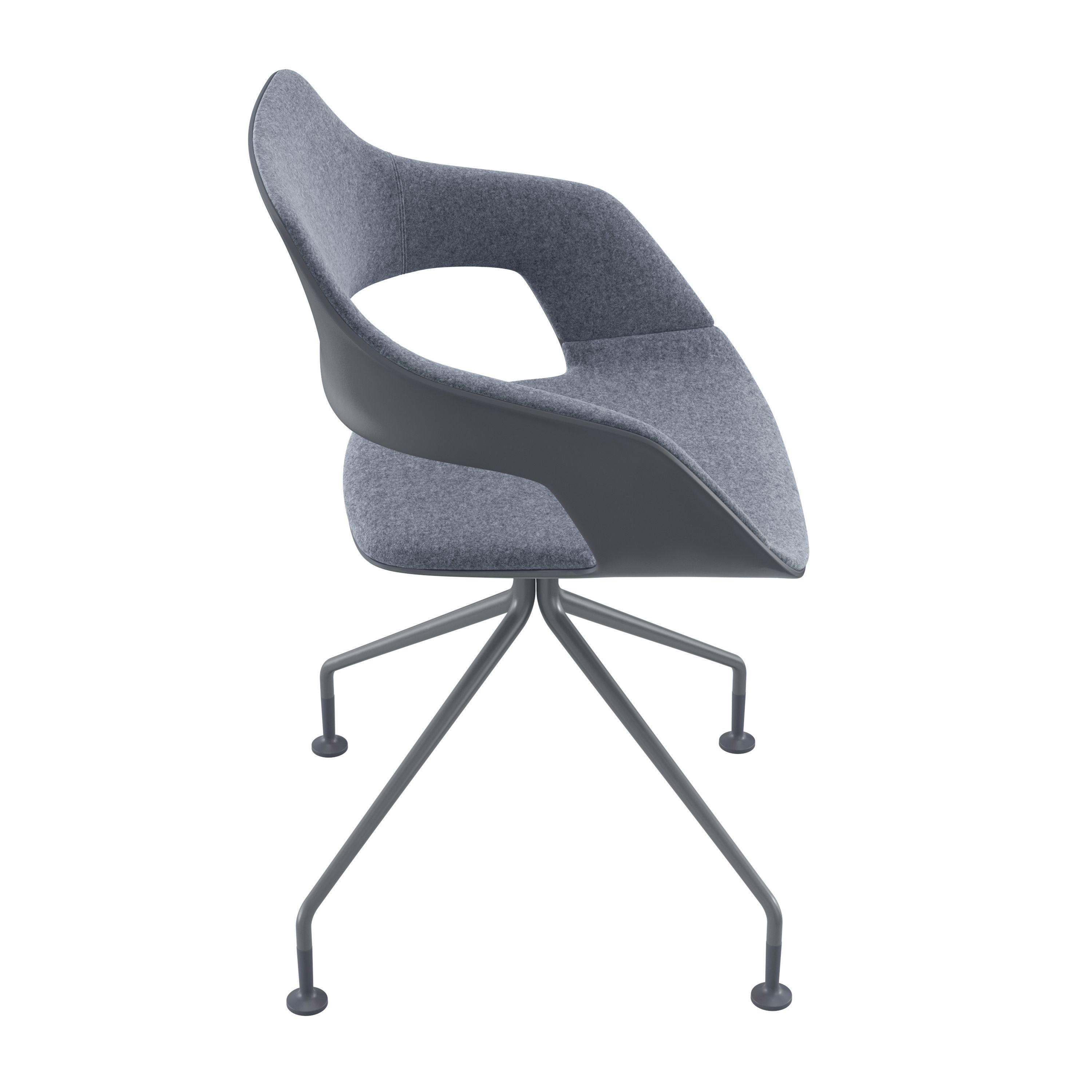 Occo Chair | Star Base Swivel Mounted | Desing By Jehs+laub| #Wilkhahn