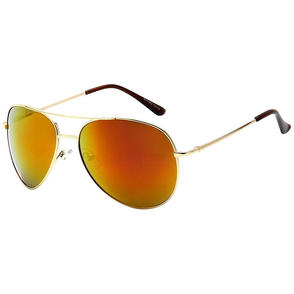 cffda1f6d SW Global Classic Color Reflective Mirror Lens Aviator Sunglasses -  eBags.com