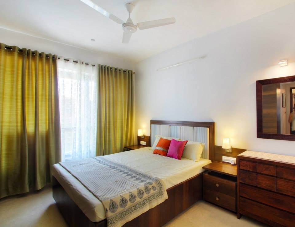 How a simple guest room should look like. | Indian living ...