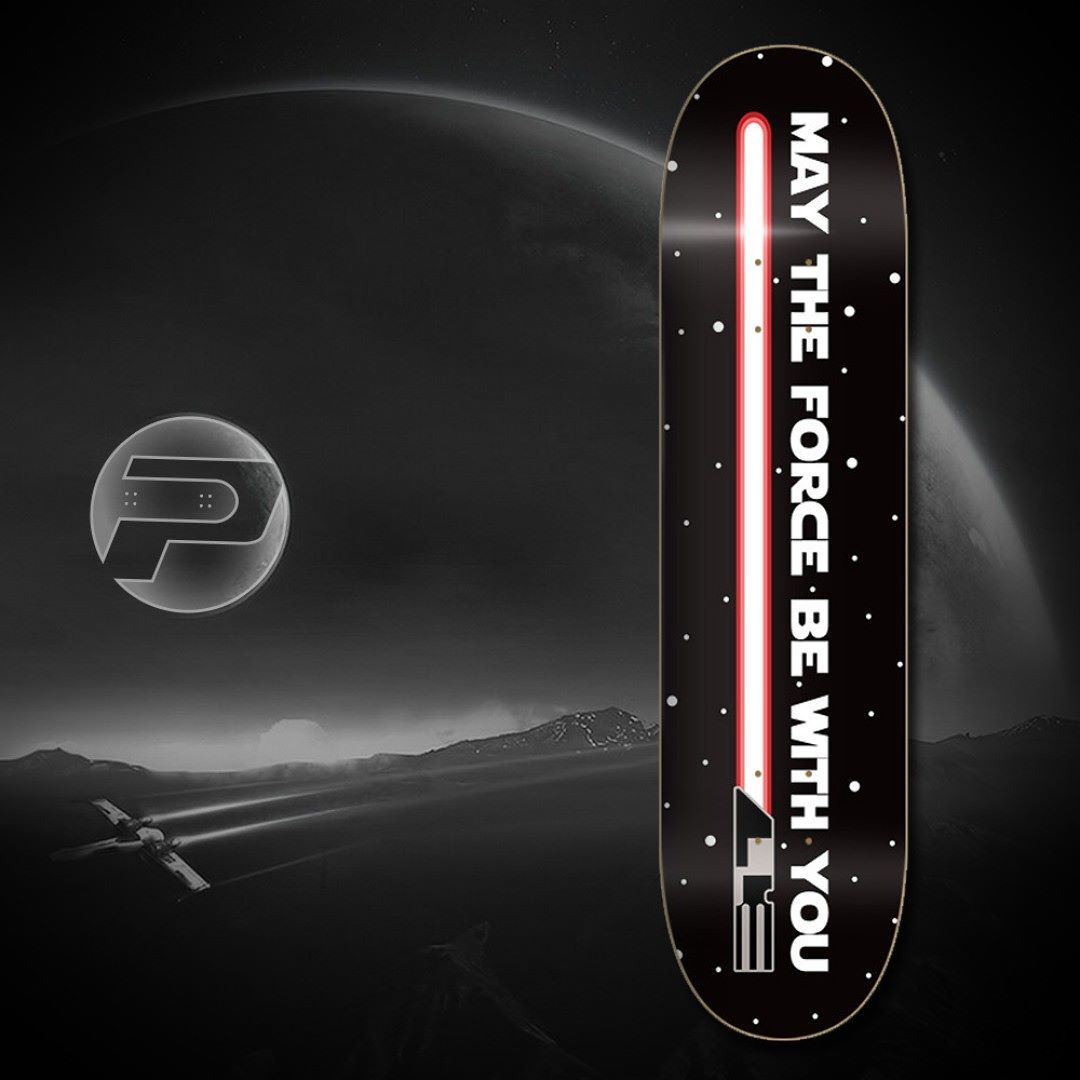Pavoz Skateboards On Instagram May The Force Be With You Guys Please Click In Www Pavoz Com For More Skateboard Decks Custom Skateboards Skate And Destroy