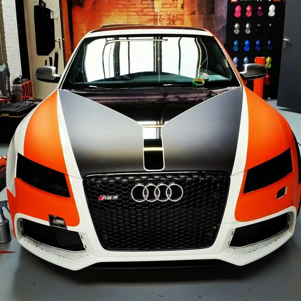 Pro wrap … Car wrap, Commercial vehicle, Audi cars