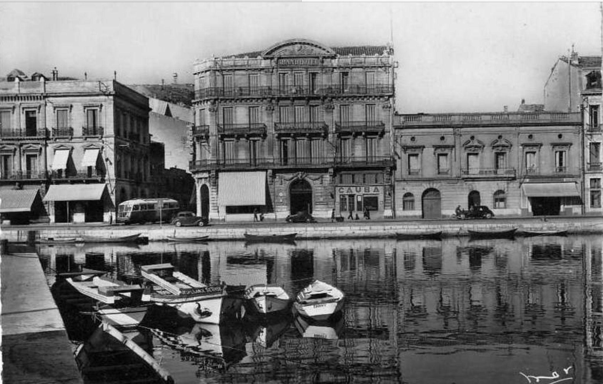 Le grand hôtel (avec images)   Sete ville, Hotel 3 etoiles, Carte postale