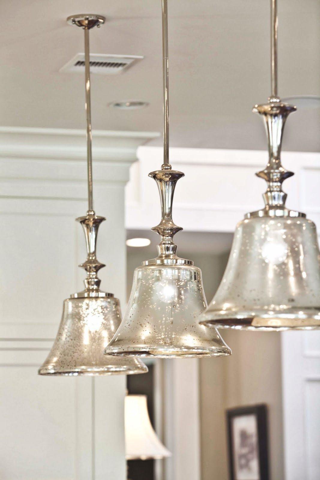 New Craftsman Home Photo Shoot | Corbett lighting, Mercury glass and ...