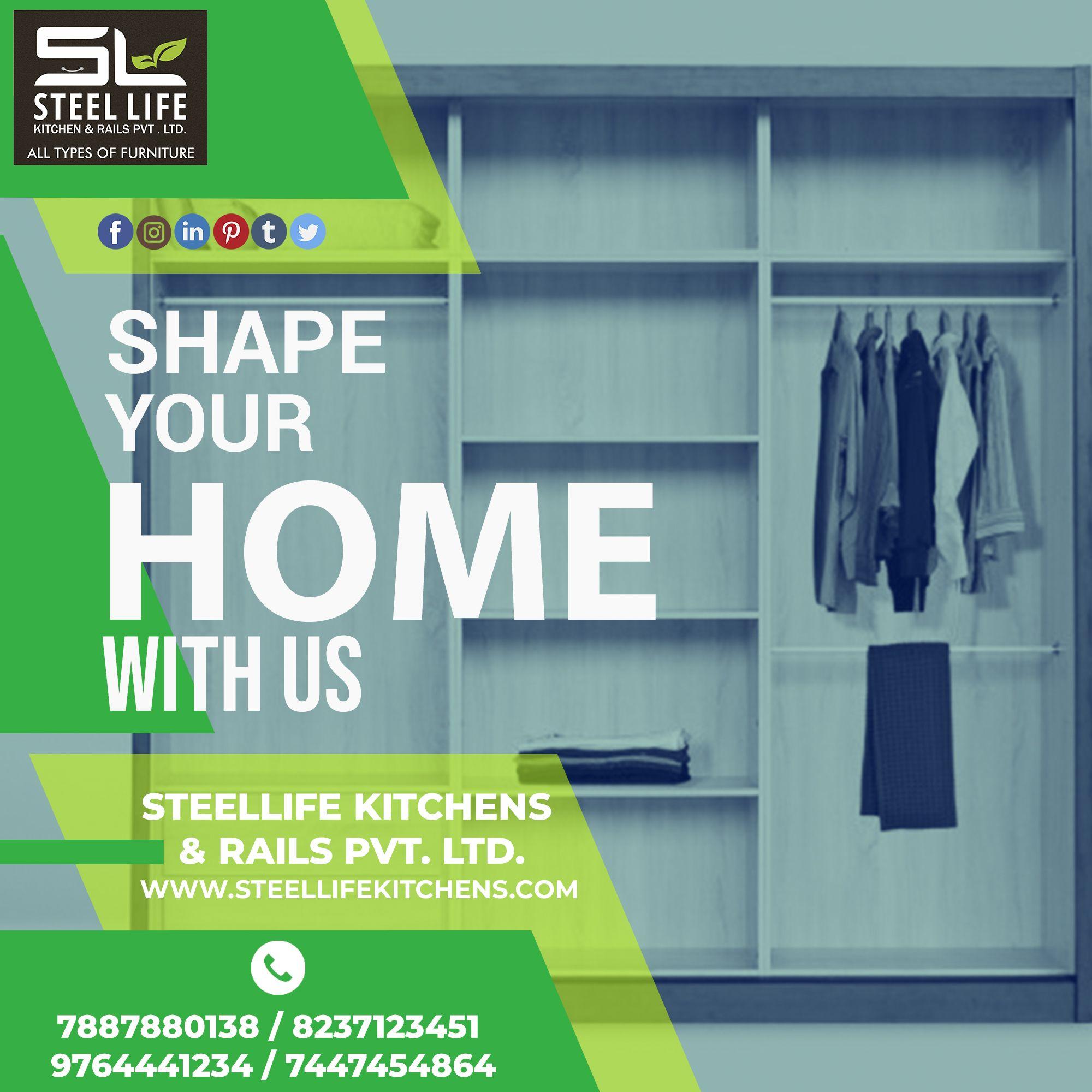 Steel Life Kitchens & Rails Pvt. Ltd. Make A Perfect