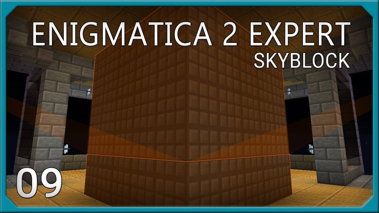Enigmatica 2 Expert Skyblock Compact Machines Advanced