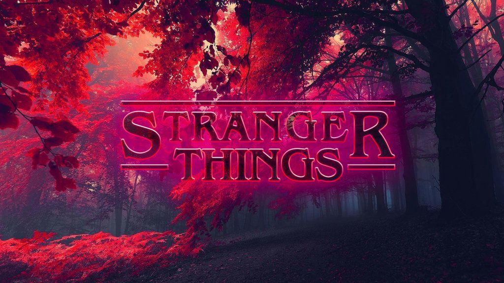 Stranger Things Wallpaper by on