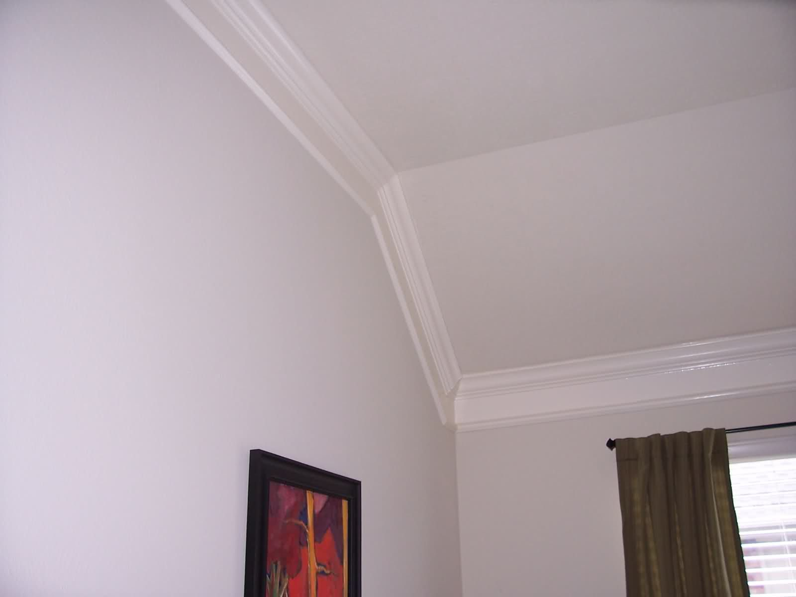 Bedroom Ceiling Moulding Crown Molding On Angled Ceiling Crown Molding On Vaulted
