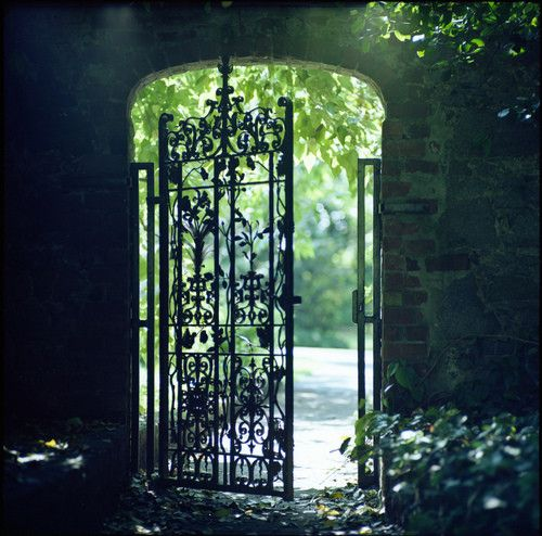 As a child I was certain that one day I might find a magic doorway to another world. I'm still looking.