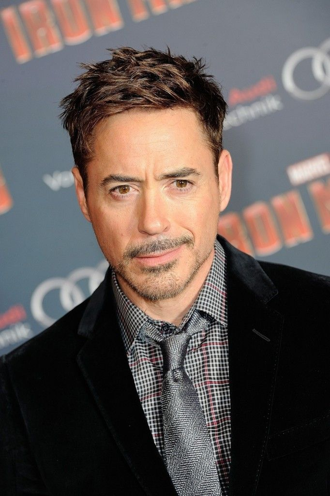 Robert Downey Jr Iron Man 3 Premieres Robert Downey Jr In