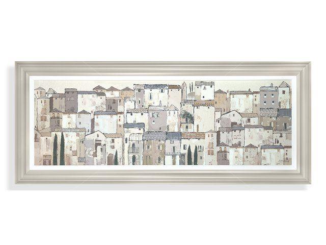 Adelene Fletcher - Siesta BGF018 Framed print Artist: Adelene Fletcher Size: H 57cm x W 137cm x D 8cm (H 22.4in x W 53.9in x D 3.1in)  Weight: kg