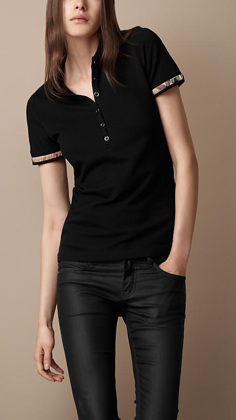 2df573062 polo. polo Polo Shirt Outfits, Polo Shirt Women, Burberry Sale, Burberry ...
