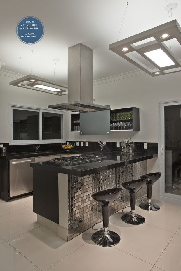 Morada tem sofisticação em tons pastel Cocinas, Casas y Interiores - interiores de casas