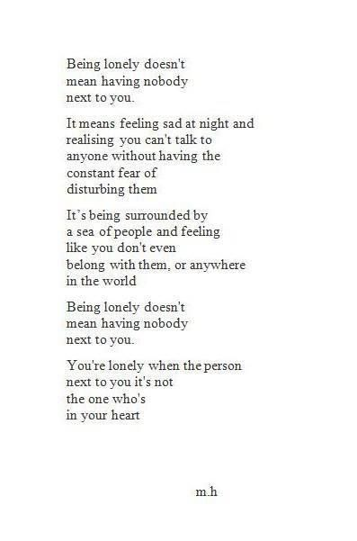 Being Lonely Quotable Quotes Pinterest Lonely Quotes