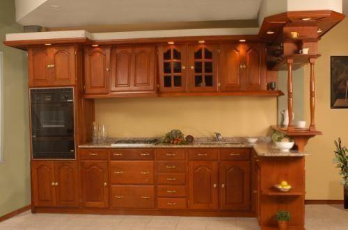 Muebles de cocina de algarrobo buscar con google hogar for Amoblamientos de cocina precios