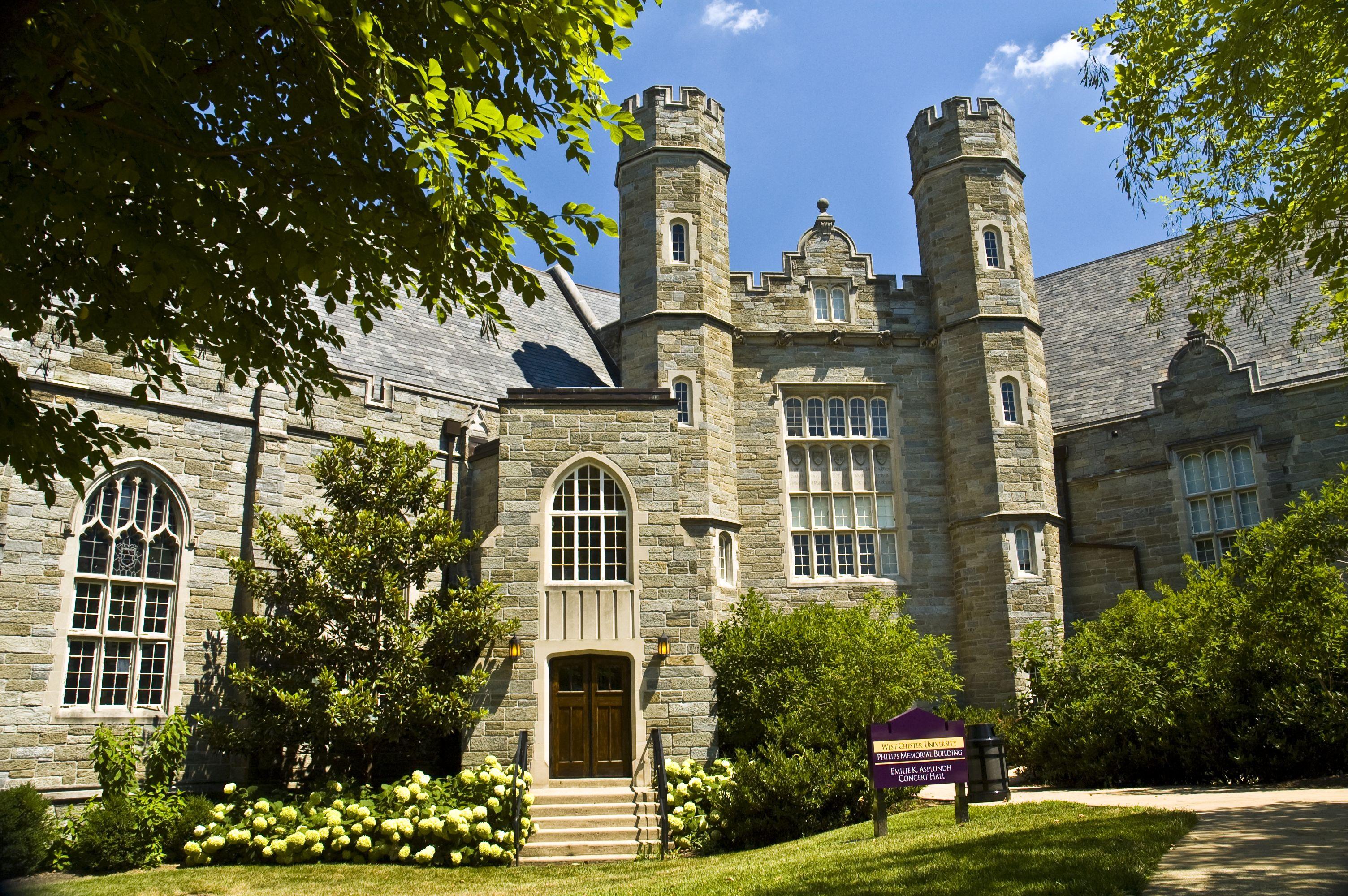 Philips Memorial Building - West Chester University's beautiful castle