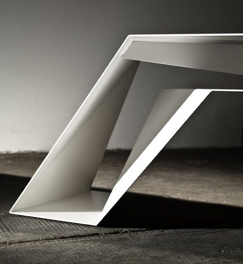 When Folding Surfaces Results In Functionality: FOLDONE Table: Form, Foldone  Novae Architecture, Pictures