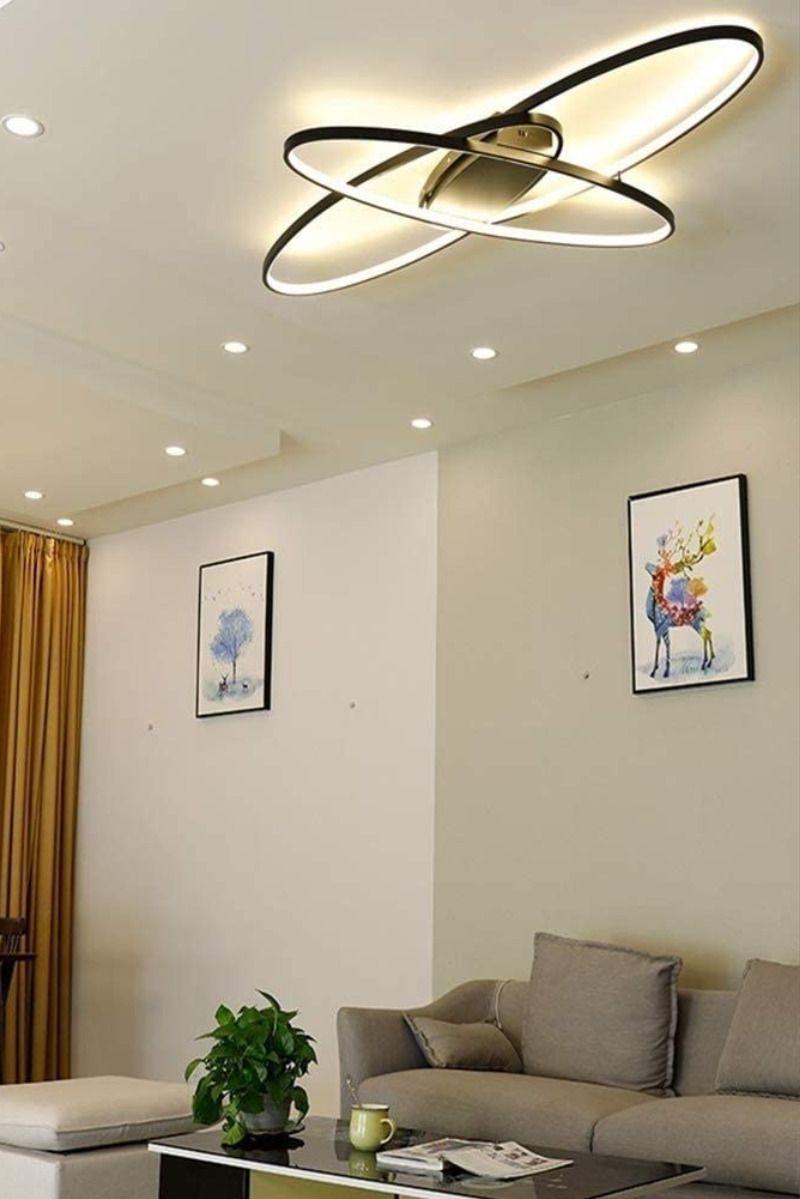 Led Wohnzimmerlampe Deckenleuchte Dimmbar In 2020