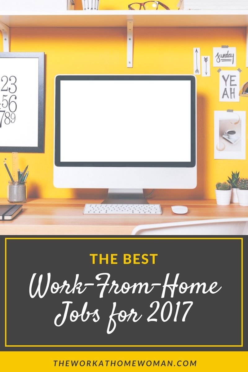 the best work from home jobs for 2018 business