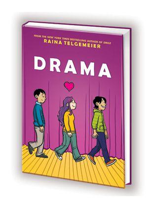 Drama By Raina Telgemeier Books For Teens Good Books Chapter Books