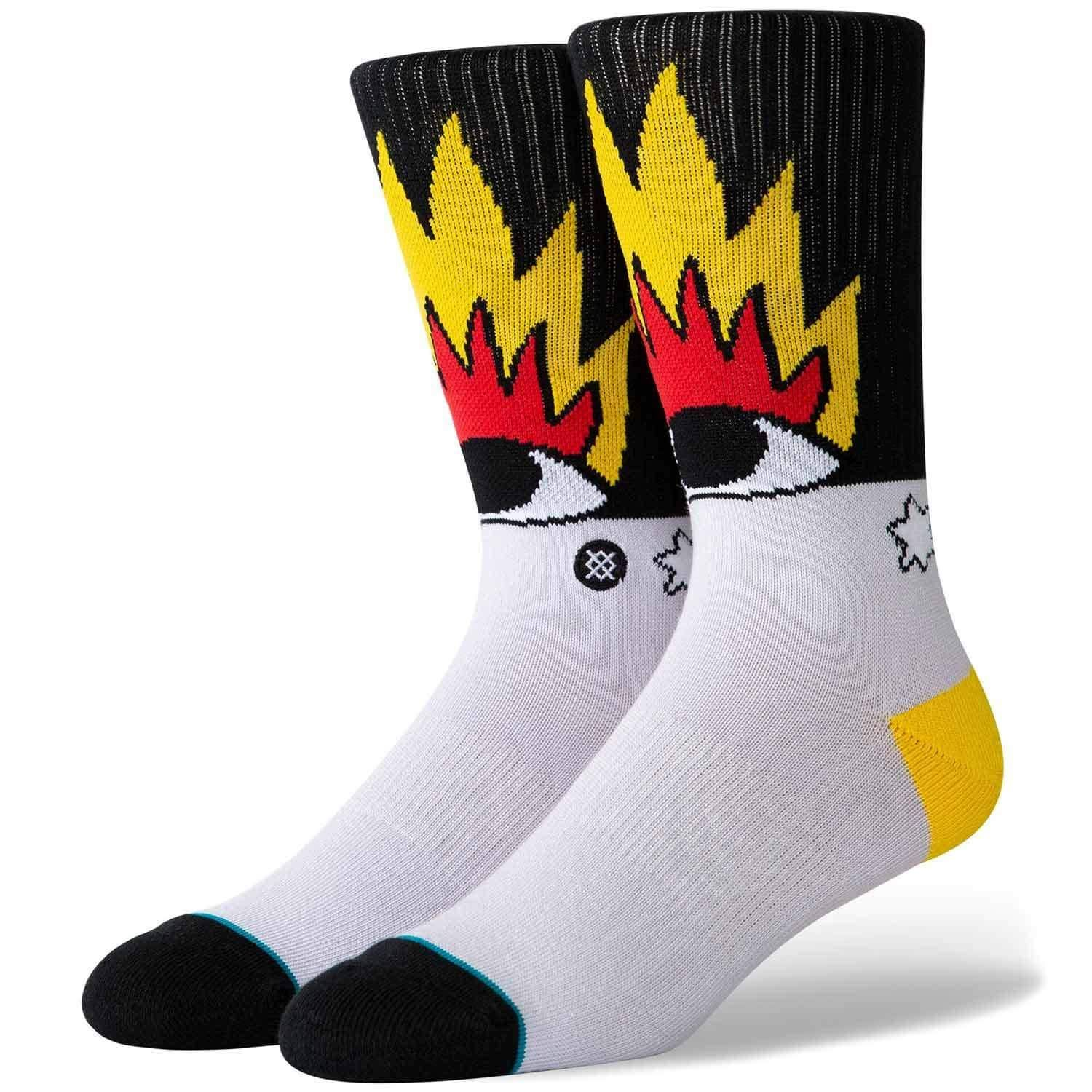 Photo of Stance Cavolo Fire And Eyes Socks – Multi