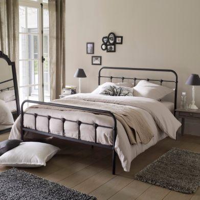 lit 2 personnes barreaux asper la redoute interieurs bedroom pinterest barreau la. Black Bedroom Furniture Sets. Home Design Ideas
