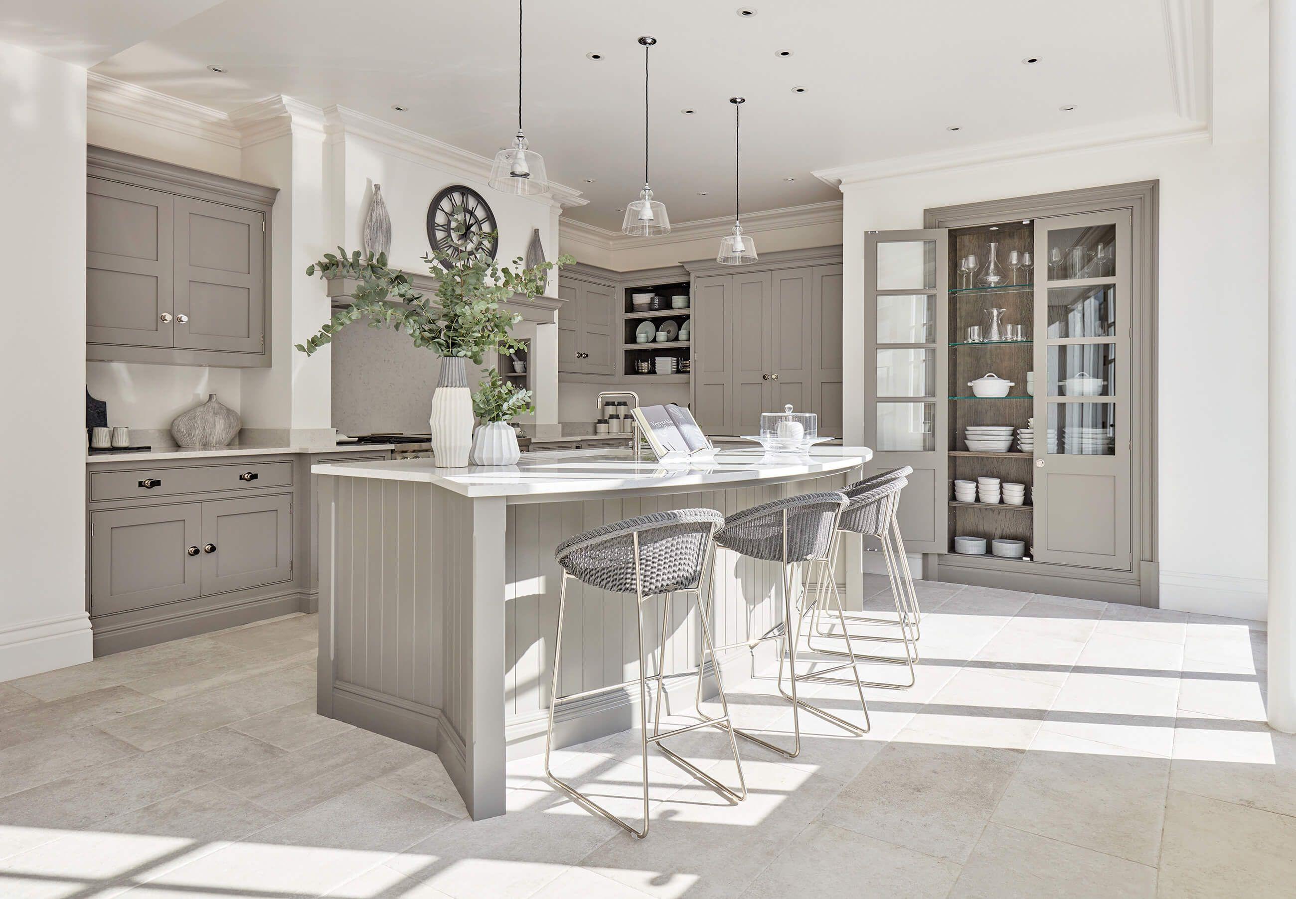 grey painted kitchen in 2020 grey painted kitchen stylish kitchen tom howley kitchens on kitchen decor grey cabinets id=17431