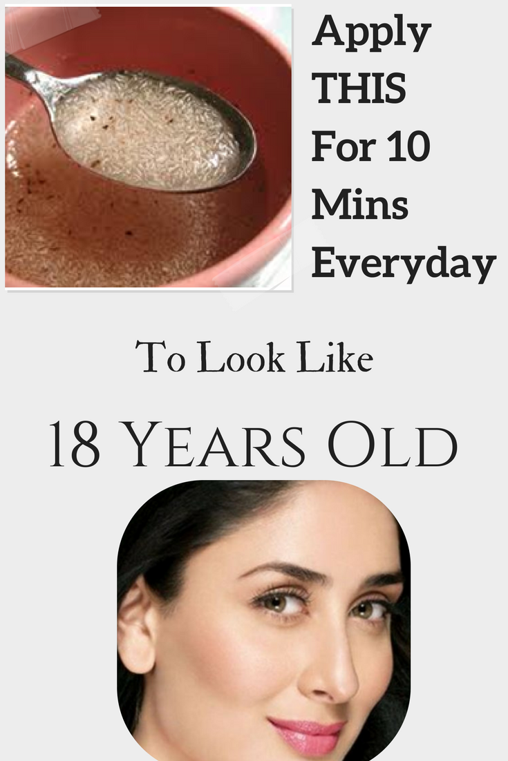 Amazing Home Remedy To Look Younger Face Skin Care Anti Aging Skin Products Skin Care Masks