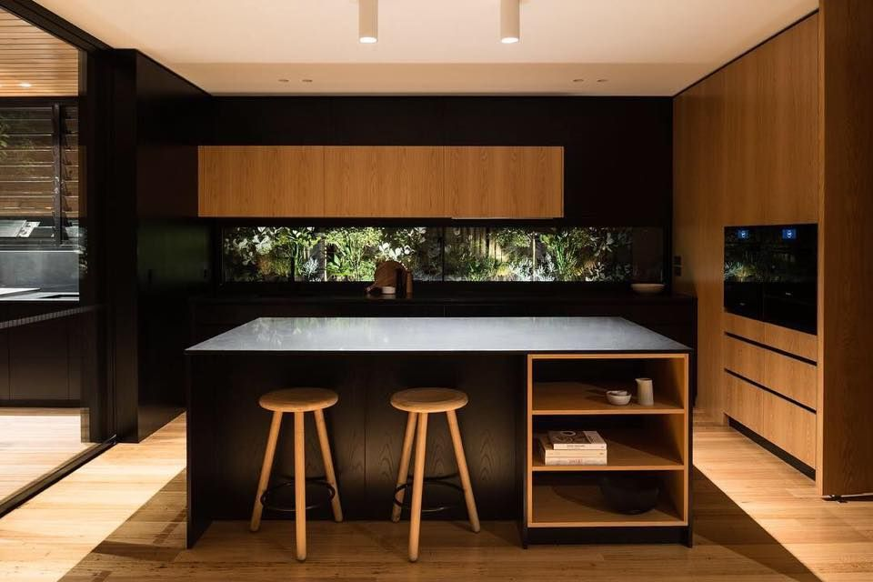 Icm Geelong Kitchen Of The Week This Sleek Kitchen By Surfcoast