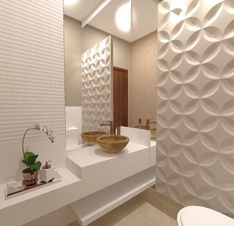 Banheiro · Wc DesignDesign IdeasInterior DesignBathroom ...