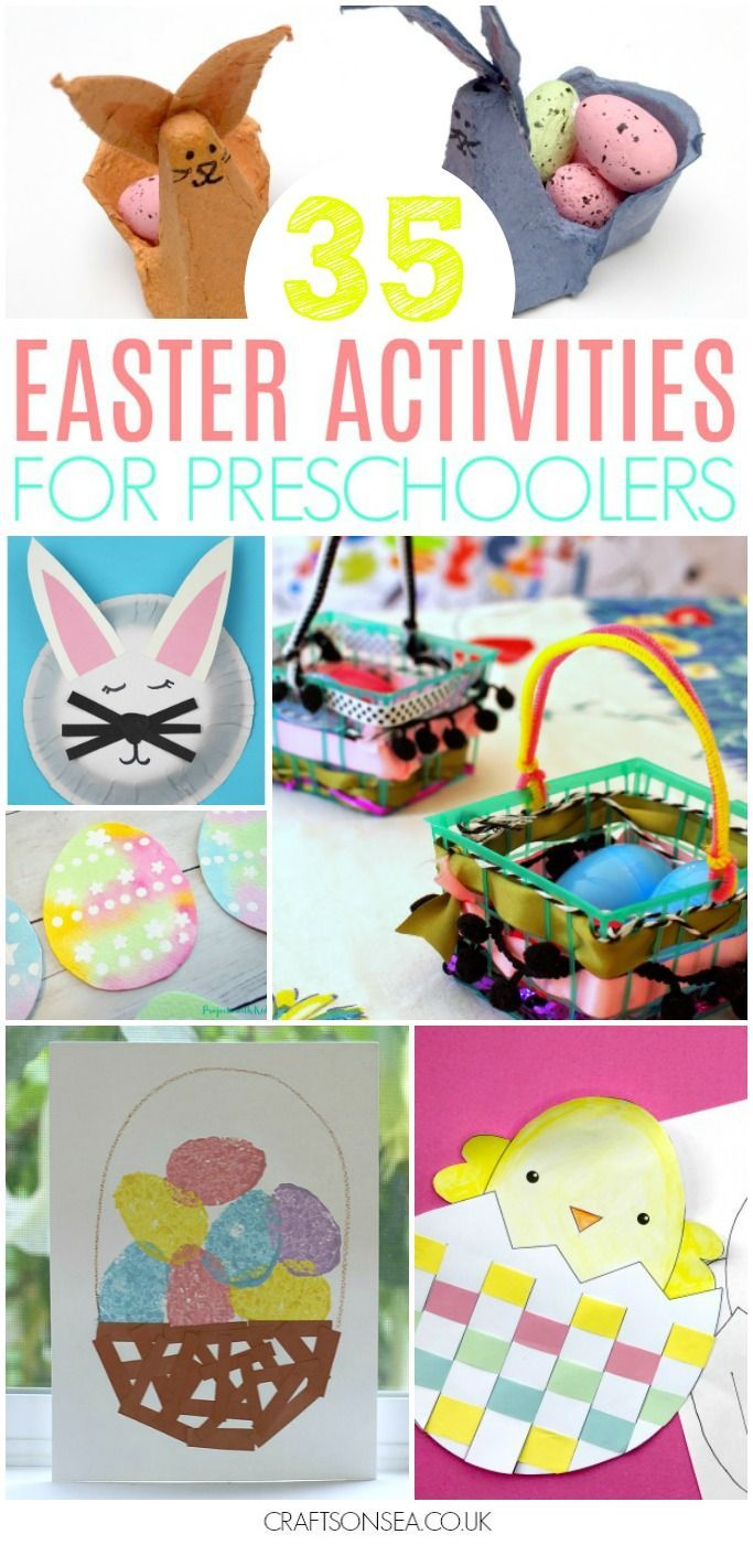 35 Easter Activities for Preschoolers is part of Kids Crafts Ideas For Easter - Pin1KShare2Tweet+11K SharesAs my kids have been reminding me at least 532 times a day, it's nearly Easter (can you guess that the Easter bunny is popular round ours !) so I'm really pleased to be sharing…