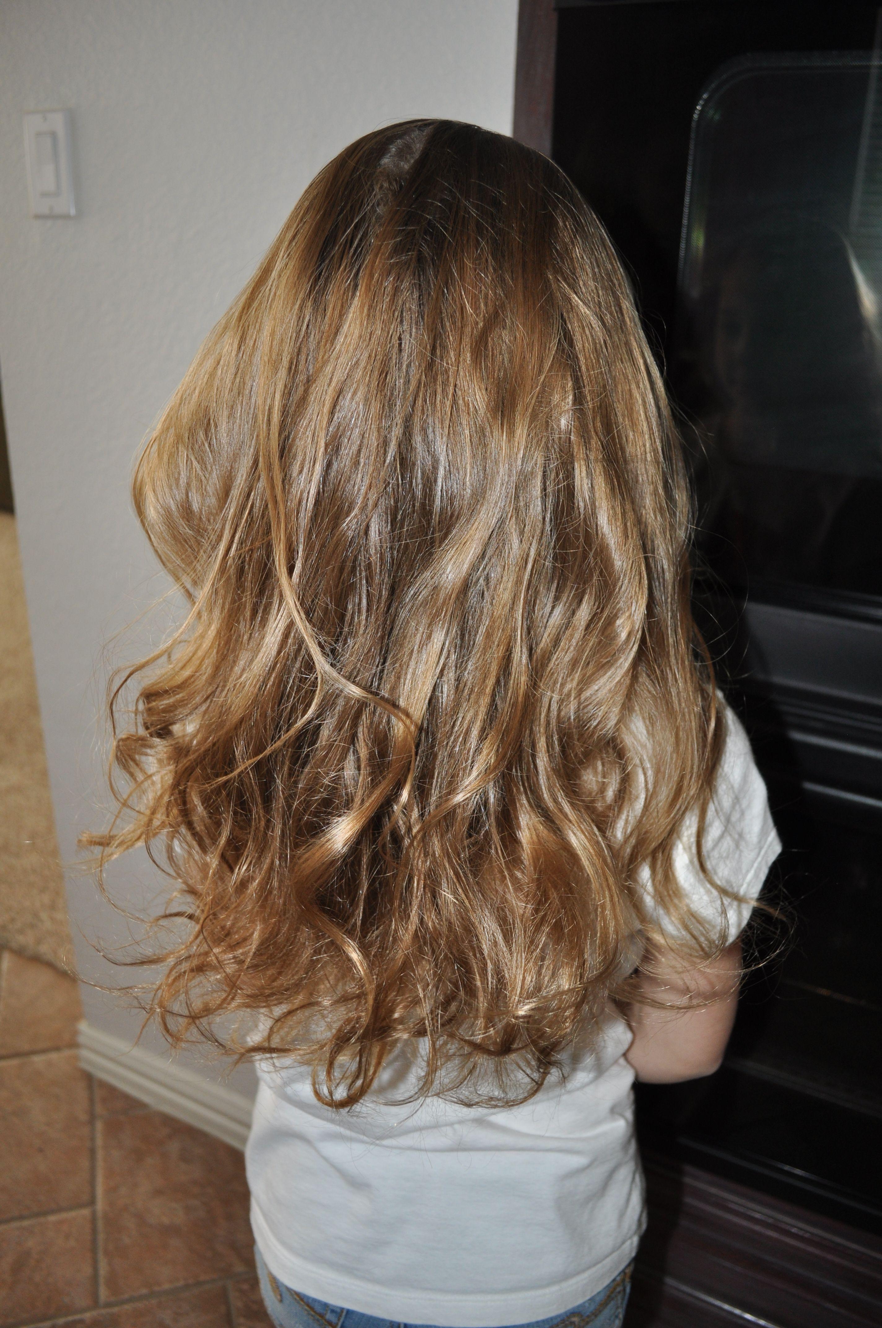Jadeus hair after a sock bun overnight my style pinterest