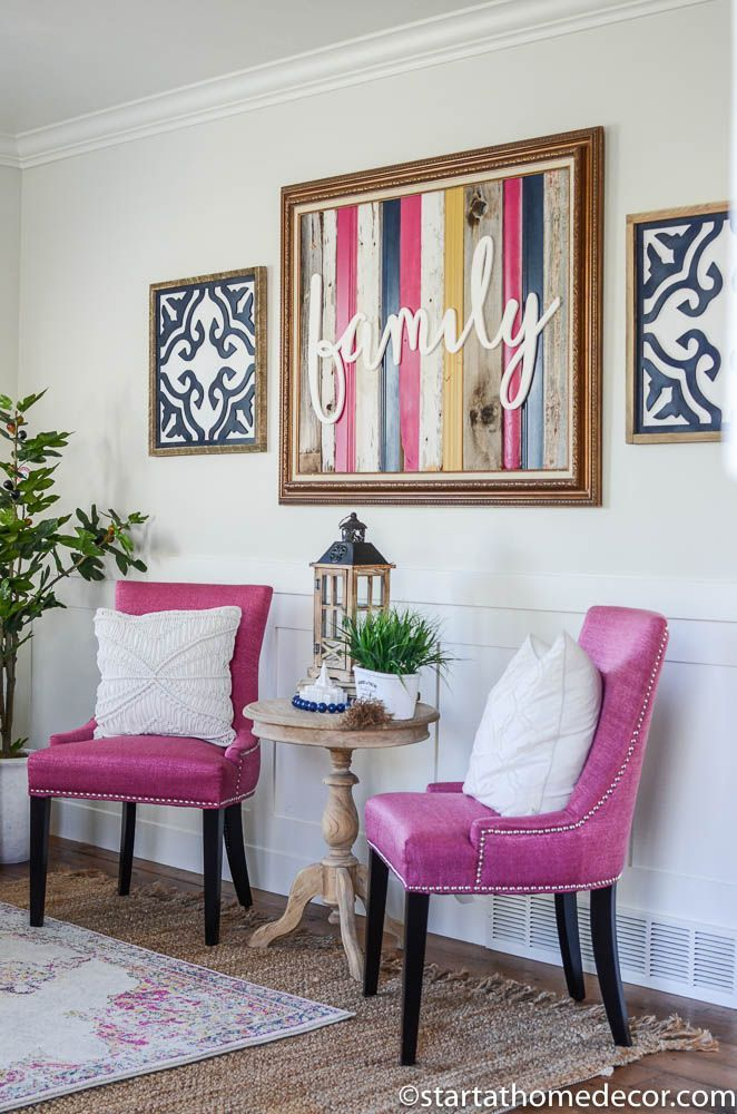Pin On Furniture I Love #pink #and #yellow #living #room